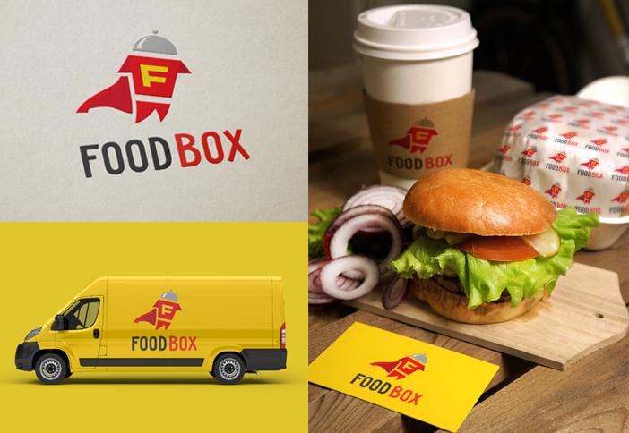 Разработка логотипа FOOD BOX